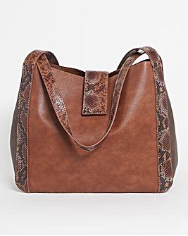 Block Colour Shoulder Bag