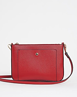 Cross Body Bag With Detatchable Strap
