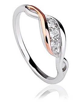Clogau Past Present Future Ring