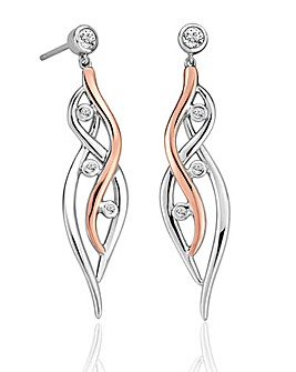 Clogau Swallow Falls Drop Earrings