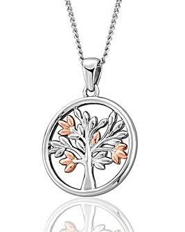 Clogau Tree of Life Circle Pendant
