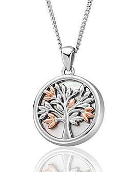 Clogau Tree Mother of Pearl Pendant