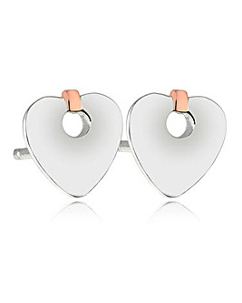 Clogau Cariad Stud Earrings