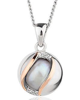 Clogau Oyster Pearl Pendant