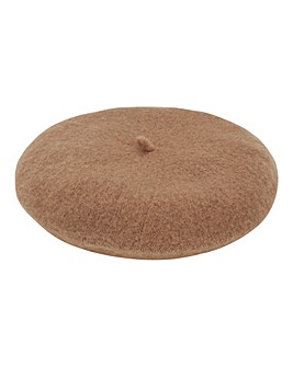 Camel Soft Beret Hat