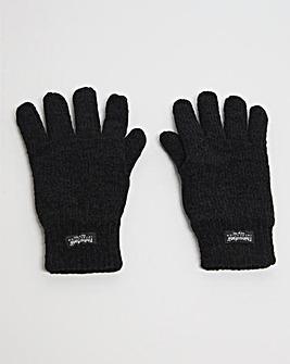 Thinsulate Black Gloves