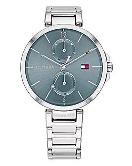 Tommy Hilfiger Ladies Angela Stainless Steel Bracelet Watch