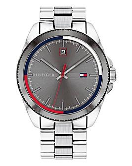 Tommy Hilfiger Mens Riley Stainless Steel Bracelet Watch
