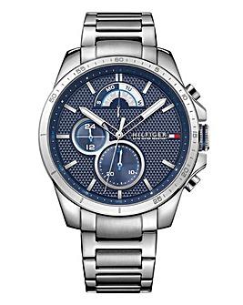 Tommy Hilfiger Mens Decker Stainless Steel Bracelet Watch