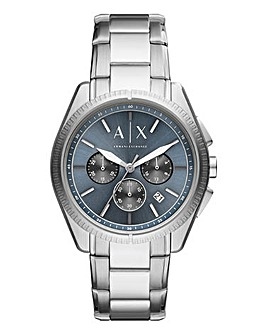 Armani Exchange Mens Chronograph Stainless Steel Watch