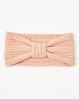 Lux Pink Knitted Headband