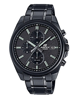 Edifice Slim Chronograph with IP Finish