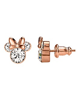 Disney Mickey Mouse Rose Gold Earrings