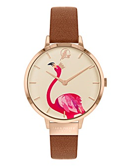 Sara Miller Piccadilly Leather Watch