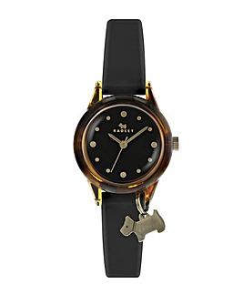 Radley Watch It! Ladies Black Silicone Strap Watch
