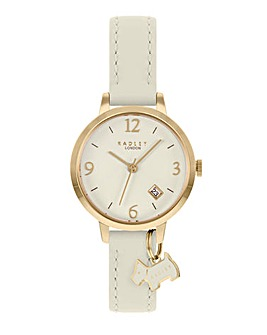 Radley Cream Leather Strap Watch