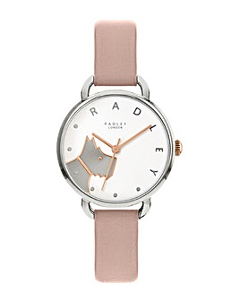 Radley Blush Leather Strap Watch