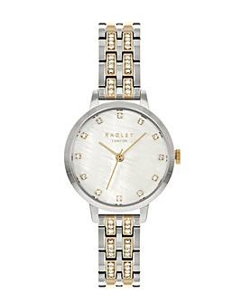 Radley Branded Ladies Silver Brass Bracelet Watch