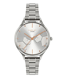 Radley Face To Face Silver Watch