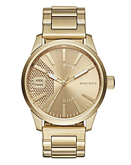 Diesel Gold Rasp Watch