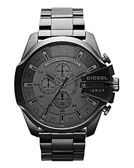 Diesel Mens Gunmetal Mega Chief Watch