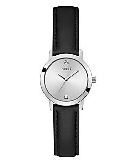 Guess Mini Nova Black Leather Watch