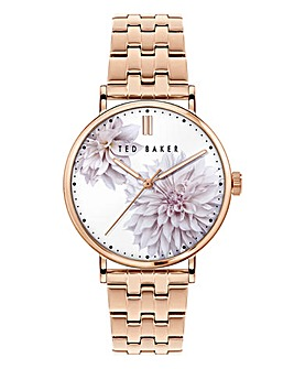 Ted Baker Rose Gold Phylipa Peonia Watch