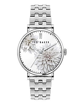 Ted Baker Silver Phylipa Peonia Watch