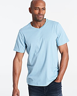Duck Egg V-Neck T-shirt Long