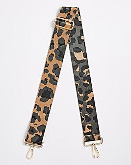 Leopard Detachable Bag Strap