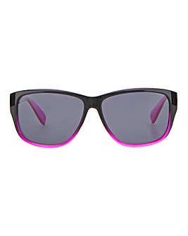 Sophia Black And Pink Frame Polarized Sunglasses