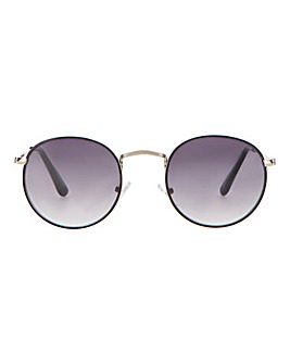 Sandy Round Metal Frame Sunglasses