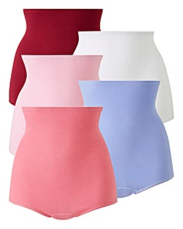 5 Pack Pink Comfort Shorts