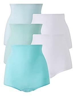 5 Pack Pastel Comfort Shorts