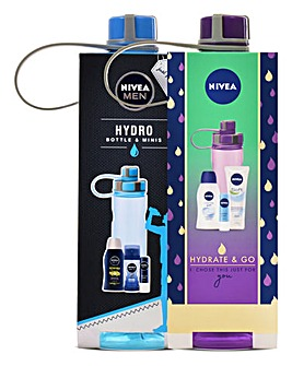 Nivea His and Hers Active Bottles