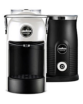 Lavazza Jolie White Espresso Capsule Coffee Machine Bundle