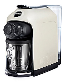Lavazza A Modo Mio Desea White Espresso Capsule Coffee Machine