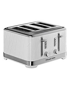 Russell Hobbs Structure White Toaster