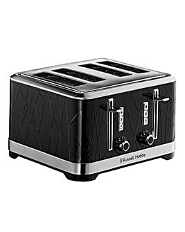 Russell Hobbs Structure Black Toaster