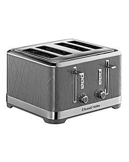 Russell Hobbs Structure Grey Toaster