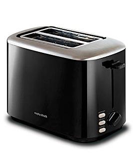 Morphy Richards 222064 Equip 2 Slice Black Toaster