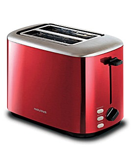 Morphy Richards 222066 Equip 2 Slice Red Toaster