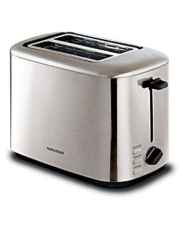 Morphy Richards 222067 Equip 2 Slice Brushed Steel Toaster