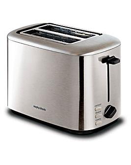 Morphy Richards 222067 Equip 2 Slice Brushed Steel Toaster