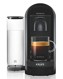Nespresso XN903840 Vertuo Black Limited Edition Capsule Coffee Machine by Krups