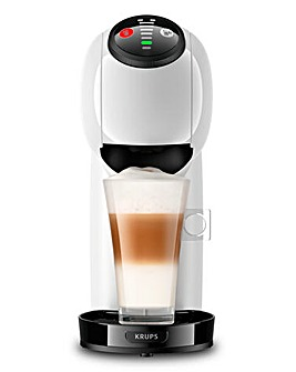 Nescafe Dolce Gusto Genio S White Automatic Coffee Capsule Machine by Krups