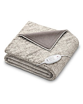 Beurer HD75 Nordic Fluffy Heated Throw