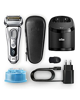 Braun 9390cc Wet and Dry Flex Shaver