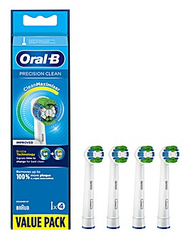 Oral-B Precision Clean 4 Brush Heads