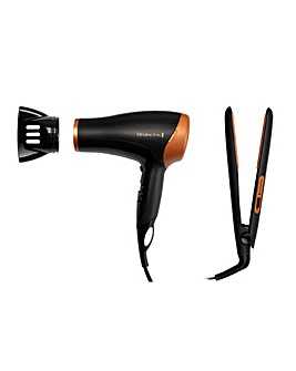 Remington Copper Twin Gift Pack